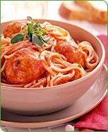 Photo of Turkey meatballs with spaghetti by WW