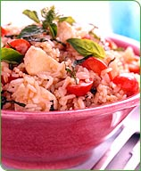 Photo of Caprese Rice Salad by WW