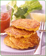 Photo of Sweet corn and shrimp cakes by WW