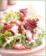 Photo of Steak salad with spicy buttermilk dressing by WW