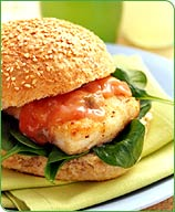 Photo of Baked Fish Sandwich with Spiced Mayonnaise by WW