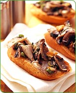 Photo of Wild mushroom bruschetta by WW