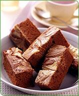 Photo of Cream cheese swirl brownies by WW