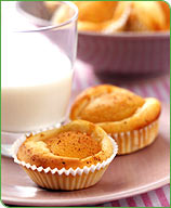 Photo of Peach kuchen cupcakes by WW