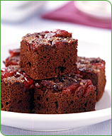 Photo of Cranberry upside-down brownies by WW