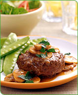 Photo of Salisbury steak by WW