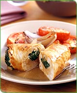 Photo of Spinach-Ricotta Rolled Turkey Breasts by WW