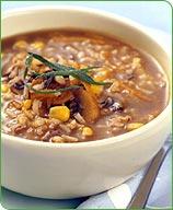 Photo of Wild Rice, Barley, Corn and Mushroom Soup by WW