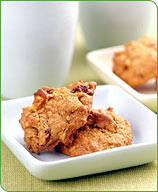 Photo of Apple-Cranberry Breakfast Cookies by WW