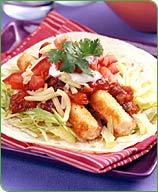 Photo of Fish stick soft tacos by WW