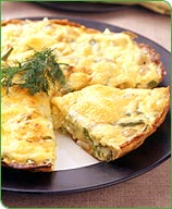 Photo of Green bean, pearl onion and dill frittata by WW