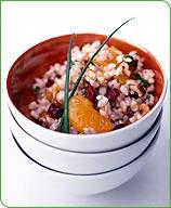 Photo of Cranberry-walnut brown rice salad by WW