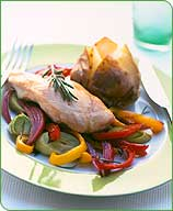 Photo of Balsamic chicken with leeks and peppers by WW