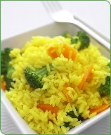 Photo of Lemon rice with seasonal vegetables by WW