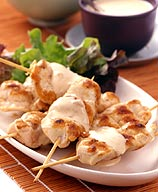 Photo of Grilled chicken skewers with satay sauce by WW