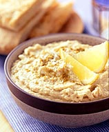 Photo of Cumin pita wedges with spicy hummus by WW