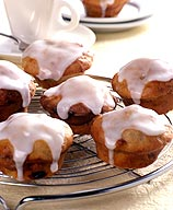 Photo of Frosted banana bread muffins by WW