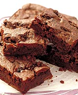 Photo of Chocolate-mint brownies by WW