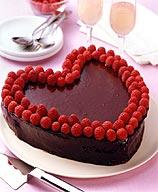 Photo of Chocolate-raspberry heart cake by WW