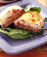 Photo of Open-faced crab-melt sandwiches by WW