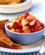 Photo of French Toast with Strawberry Salsa by WW