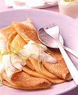 Photo of Fruity crepes with lime sauce by WW