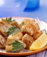 Photo of Greek-style slow cooker meatballs and artichokes by WW