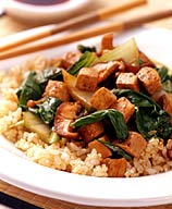 Photo of Bok choy and tofu stir-fry by WW