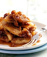 Photo of Sauteed bananas with praline sauce by WW