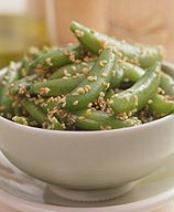 Photo of Sesame Sugar Snap Peas by WW