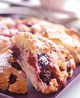 Photo of Three Berry Scones by WW