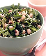 Photo of Escarole sauteed with black-eyed peas by WW