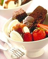 Photo of Hot fudge brownie sundae by WW