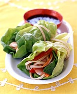 Photo of Shrimp spring rolls with dipping sauce by WW
