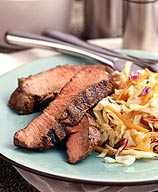 Photo of Grilled beef with wasabi slaw by WW