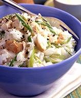 Photo of Lemony chicken rice salad by WW