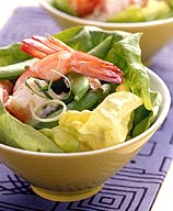 Photo of Ginger-shrimp and snap pea salad by WW
