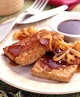 Photo of Grilled barbecue tempeh by WW