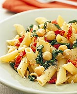 Photo of Penne with spinach and sun-dried tomatoes by WW