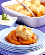 Photo of Peach cobbler by WW