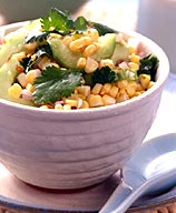 Photo of Corn and Cucumber Salsa by WW