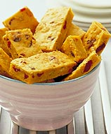 Photo of Cranberry-pumpkin bars by WW