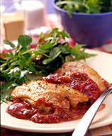 Photo of Ginger-plum sautéed chicken thighs by WW