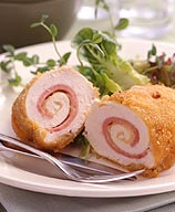 Photo of Rolled chicken cordon bleu by WW
