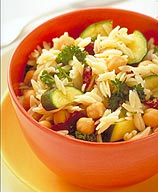 Photo of Orzo-chickpea salad by WW