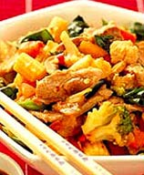 Photo of Spicy Pork Stir Fry by WW