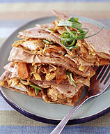 Photo of Moo shu chicken quesadillas by WW