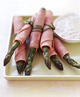 Photo of Ham and asparagus rolls with creamy salsa dip by WW