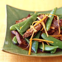 Photo of Orange beef stir-fry by WW