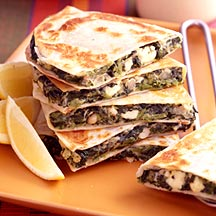 Photo of Spinach and Feta Quesadillas by WW